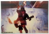 AC/DC - 'Angus Blow Up Your Video ' Postcard